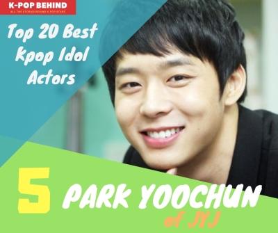 Park Yoochun of JYJ