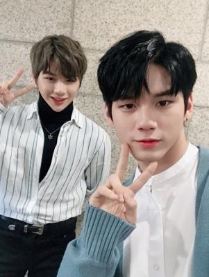 Kang Daniel and Ong Seungwoo