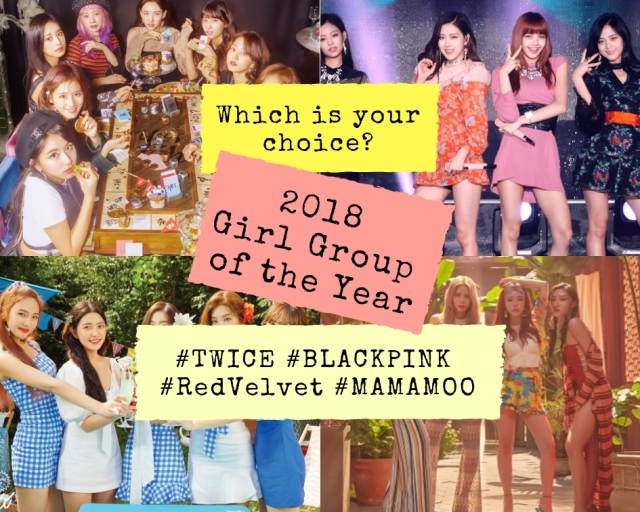 2018 kpop girl group of the year award poll
