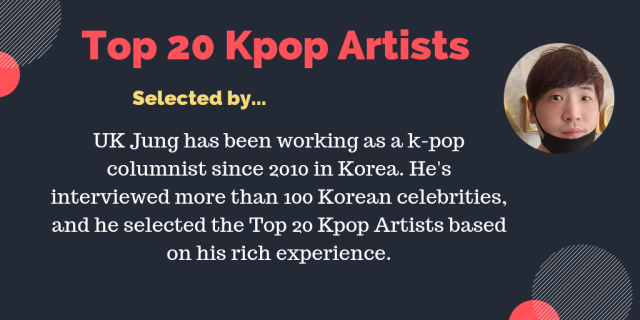 top 20 kpop artists