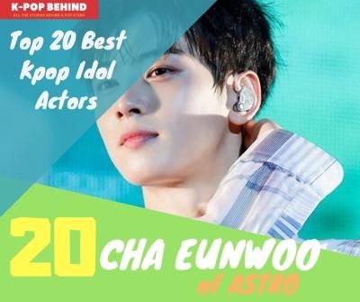 Cha Eunwoo of ASTRO